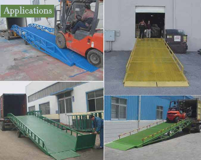 loading dock ramp application