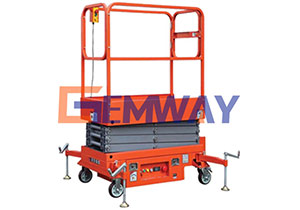 small mobile scissor lift